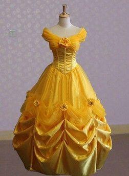 Resultado de imagen para disfraz de princesa bella