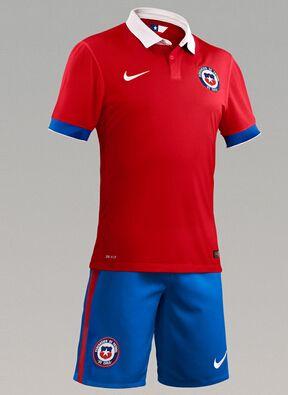 Camiseta de fútbol Chile 2016 1ª equipación Equipo nacional Nike camisetas  de fútbol Chile para la 3f5630009d283