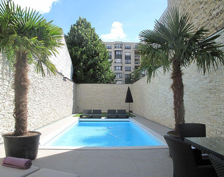 Loft avec piscine en r gion parisienne le magazine for Piscine parisienne