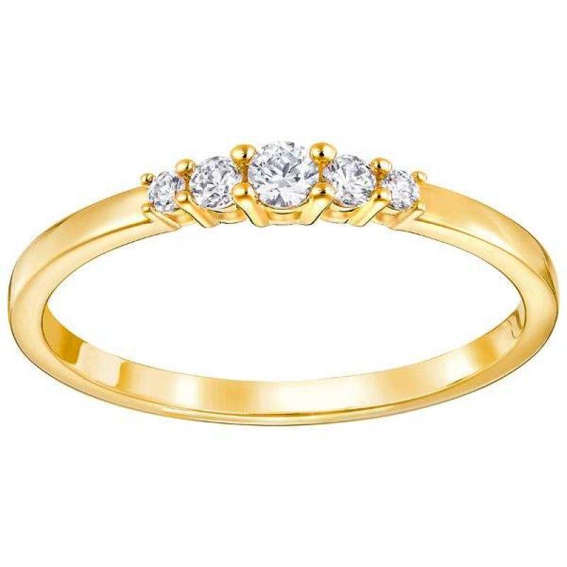 anillo swarovski frisson 5240568-55 | Swarovski ring, Rose ...