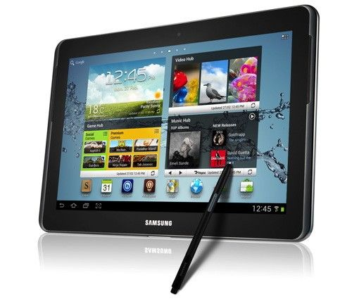 Samsung Announces Galaxy Note 10 1 At Mwc Update Hands On