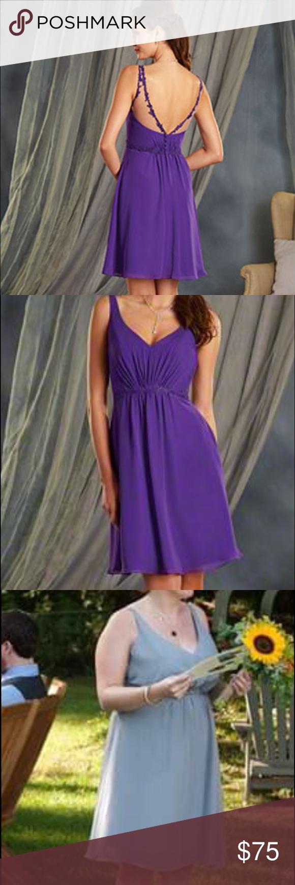 Alfred Angelo Bridesmaid Dress, style 7366S