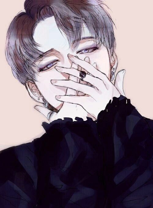 Damn ! Do You Know Who Made This Beautiful Drawing? Jiminie Is Just Too... You Know What I Mean ...