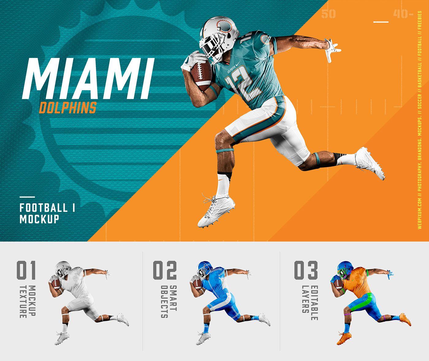 Download NFL Football Uniform Mockups on Behance | Sports design ...