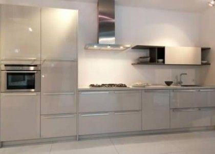 Rotpunkt kitchen final choice of colour is Kashmir but