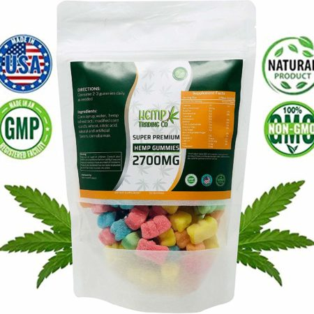 Hemp Gummies 2700 Mg 90 Ct Bursting With Usa Grown Organic Hemp