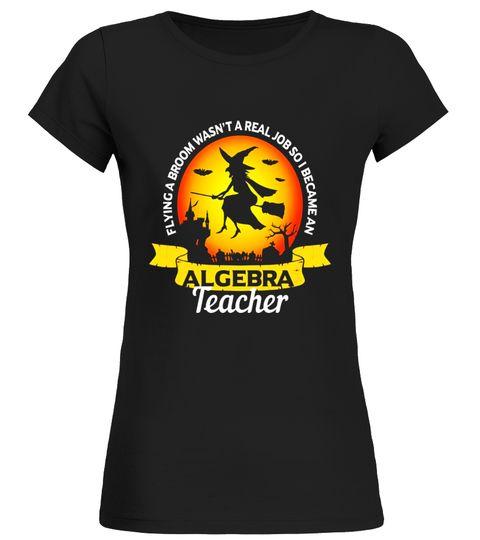 Funny Algebra Math Teacher Halloween T-Shirt