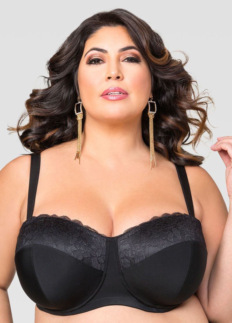 b5218b5880198 CONVERTIBLE BUTTERFLY BRA EXT - Color  Black