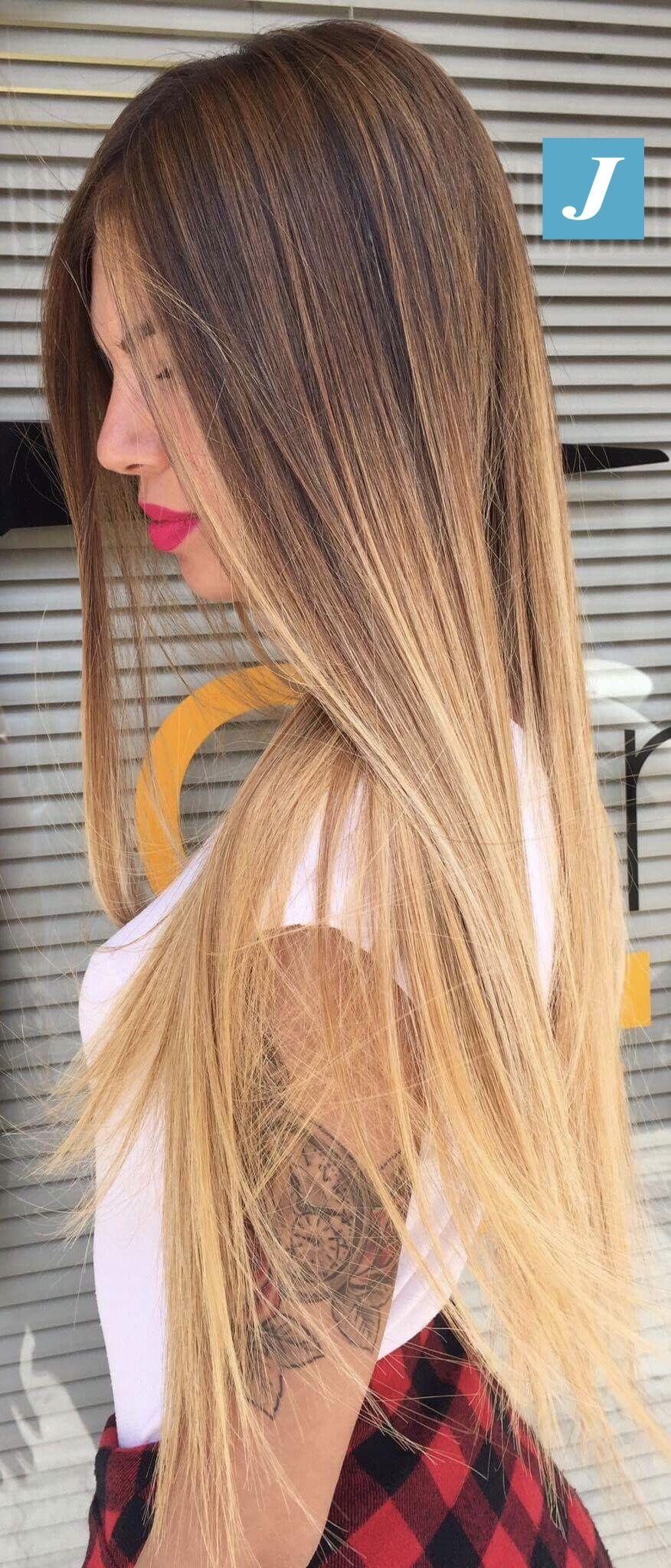 Shine bright _ Degradé Joelle #cdj #degradejoelle #tagliopuntearia #degradé #igers #musthave #hair #hairstyle #haircolour #longhair #ootd #hairfashion #madeinitaly #wellastudionyc