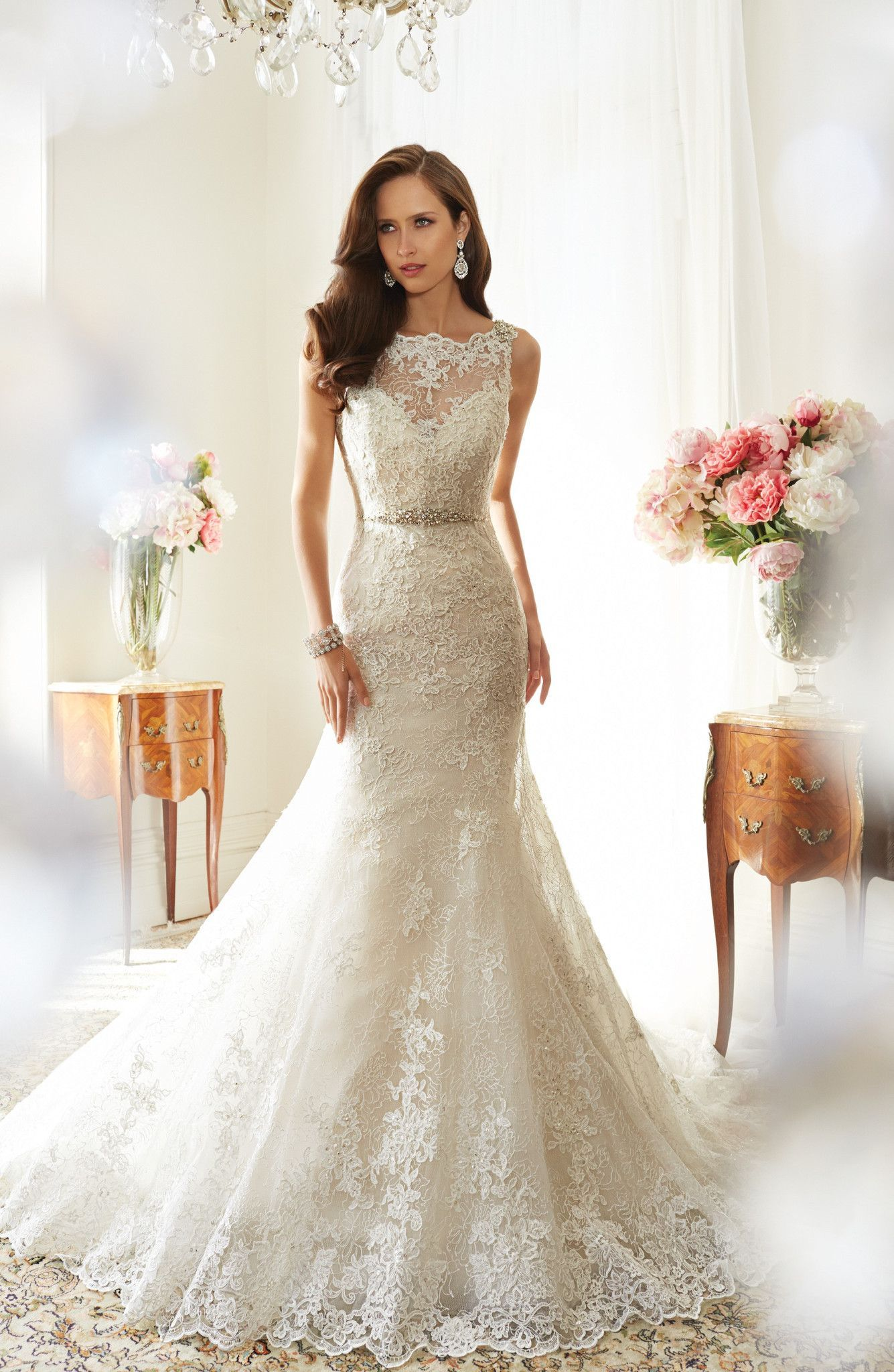 Sophia tolli teal y all dressed up bridal gown bridal