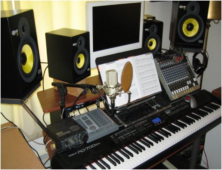 Pin by Morgan on Studio setup | Recording studio, Studio