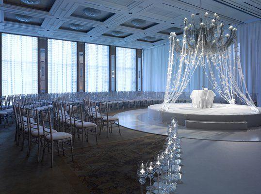 Gorgeous Chicago Wedding Venues Wedding Ceremony Accessories Indoor Wedding Ceremonies