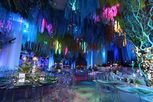 Under The Sea Theme Lighting Makes The Event Event