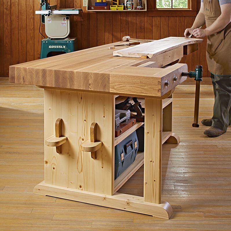 Make a statement workbench woodworking plan from wood magazine make a statement workbench woodworking plan from wood magazine greentooth Gallery