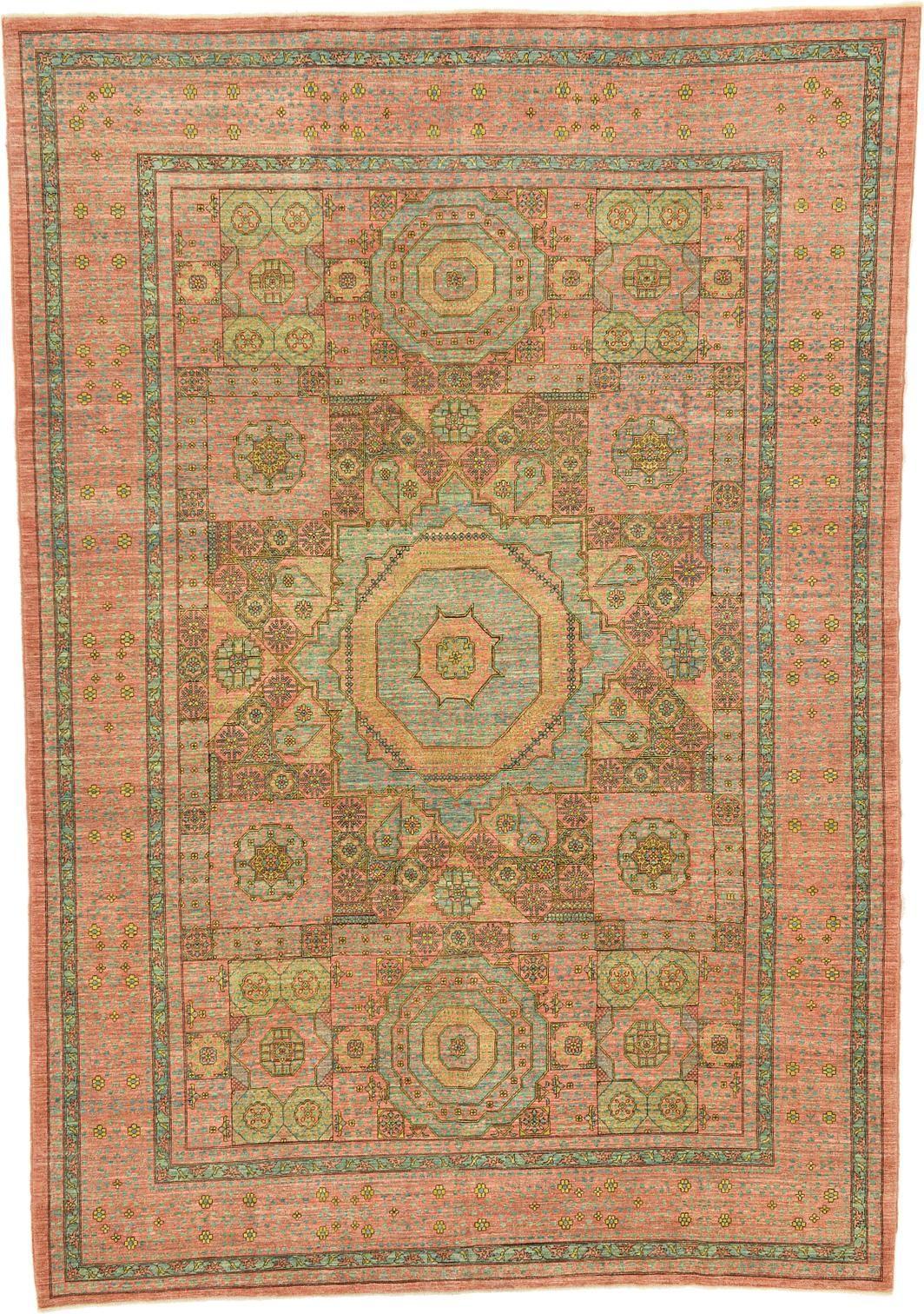 Peach 7 11 X 11 5 Mamluk Ziegler Oriental Rug Oriental Rugs Peach Rug Oriental Rug Rugs