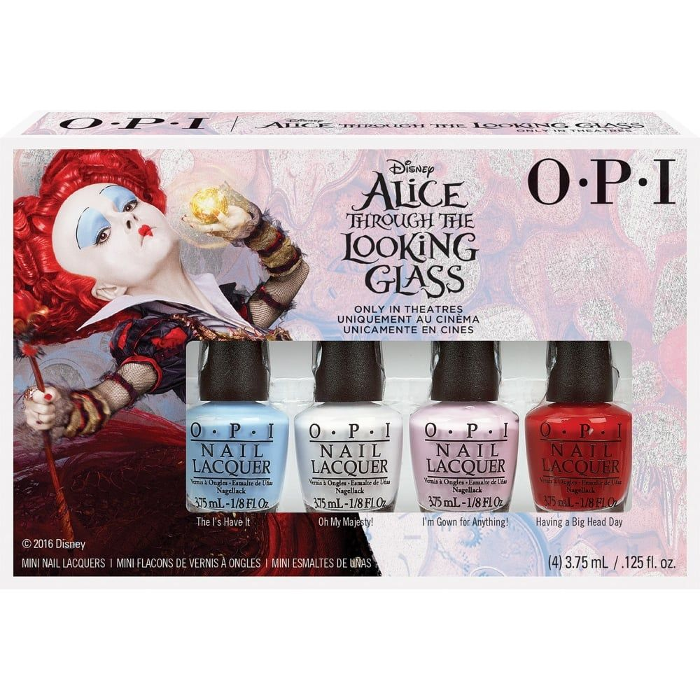 OPI Alice In Wonderland 2016 Nail Polish Collection - Mini Pack (4 x ...