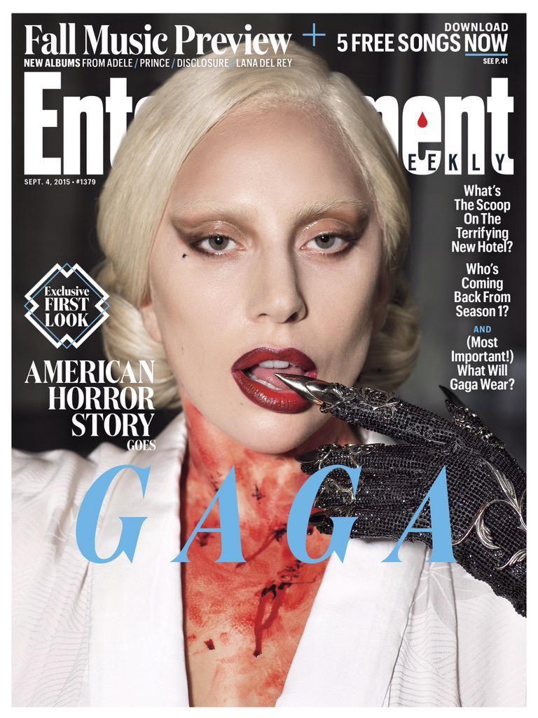 Lady Gaga On American Horror Story Hotel American Horror Story