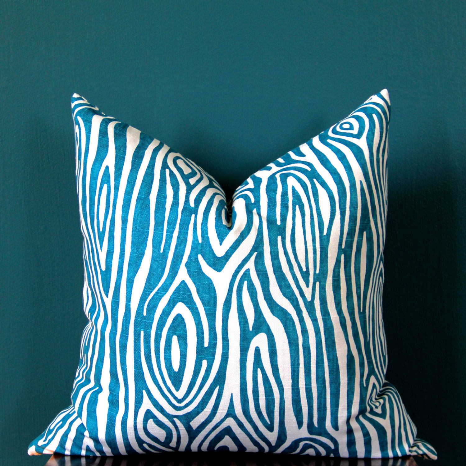 Teal Pillow Cover Turquoise Pillow Cover Abstract Pillow Cover Teal Decor Turquoise Decor Tea Turquoise Pillow Covers Teal Pillows Teal Pillow Covers