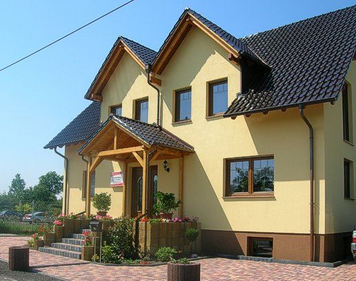 Musterhaus in 39114 Magdeburg Haus bauen, Reetdachhaus