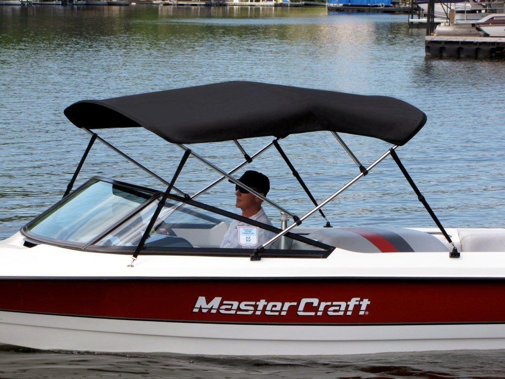 Beautiful Black Bimini On Red Mastercraft Mastercraft Boat Boat Bimini Top Bimini