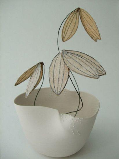 cl mentine dupr et isabelle bonte bol avril porcelaine fil de fer papier de soie et. Black Bedroom Furniture Sets. Home Design Ideas