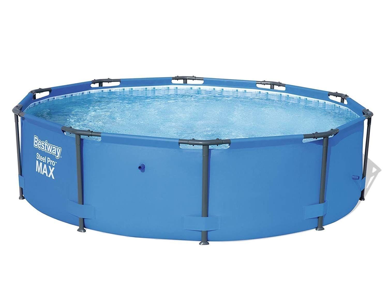 Bestway 56432BEUX16AB02 Splash Frame Pool in Shade, with