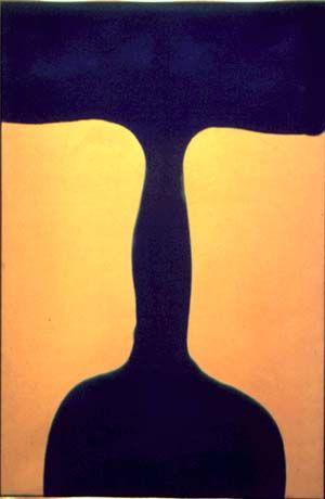 Trajan - Paul Feeley #Abstract