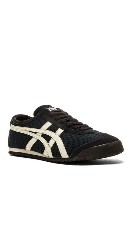 huge selection of d15f1 42109 Onitsuka Tiger Mexico 66 in Black / Off White US Size 12 ...