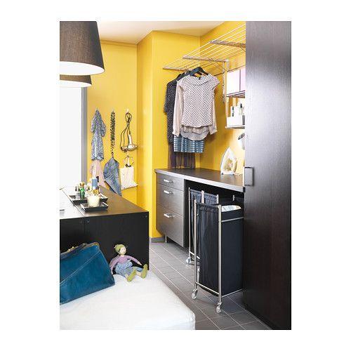 GRUNDTAL Vasketøjspose med hjul  - IKEA