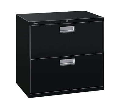 Hon 600 30 W Lateral 2 Drawer Standard File Cabinet With Lock
