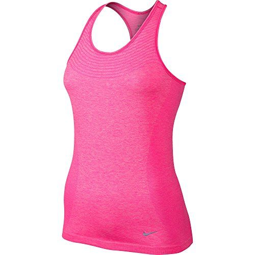 Nike Vest Knit Dri Fit Training Top Women Running Pink Size Large