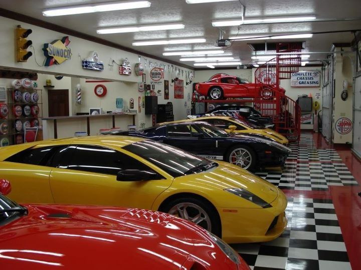 Man Cave Store Orlando : Best garage ever cars that made epic impression