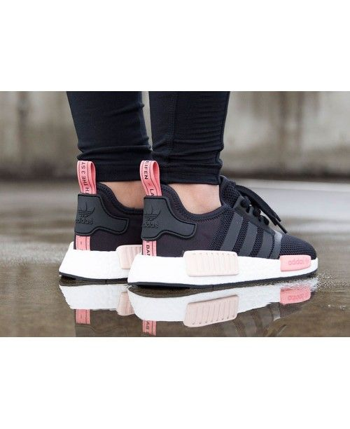 Adidas NMD Black White Pink Release,New promotional discount ...