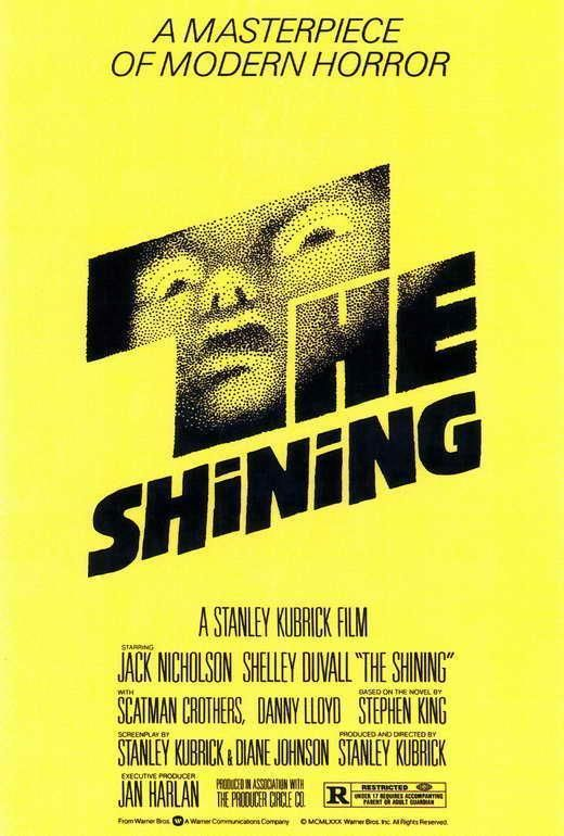The Shining Movie Poster 27 X 40 Jack Nicholson, Shelley Duvall, A, Licensed