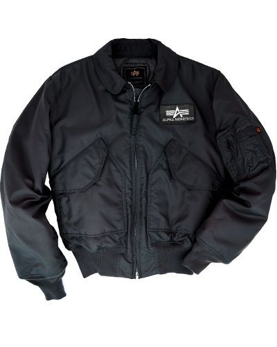 Alpha Industries MA2 CWU 45/P Flight Jacket Black. www ...