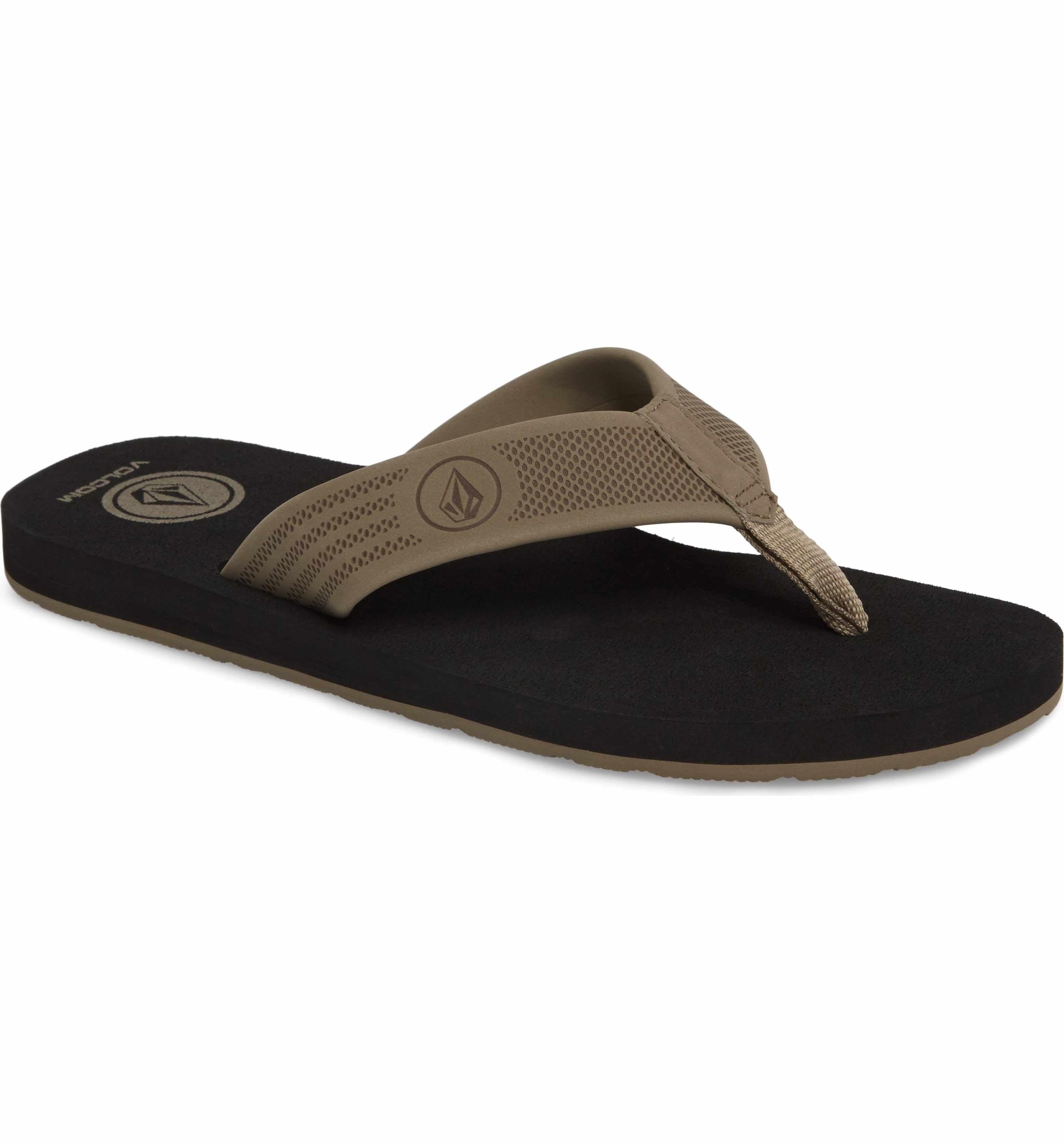 Volcom Mens Daycation Flip Flop Sandal