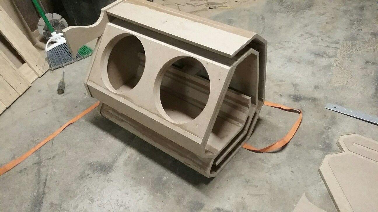 Downward Firing Slot Ported Very Loud Subwoofer Box Design Speaker Box Design Audio Design,Garage Design Software