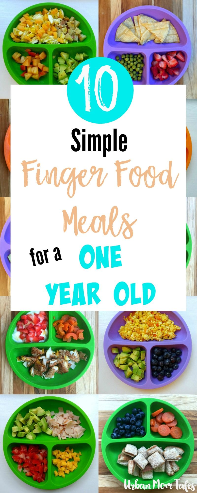 best diet for a one year old baby