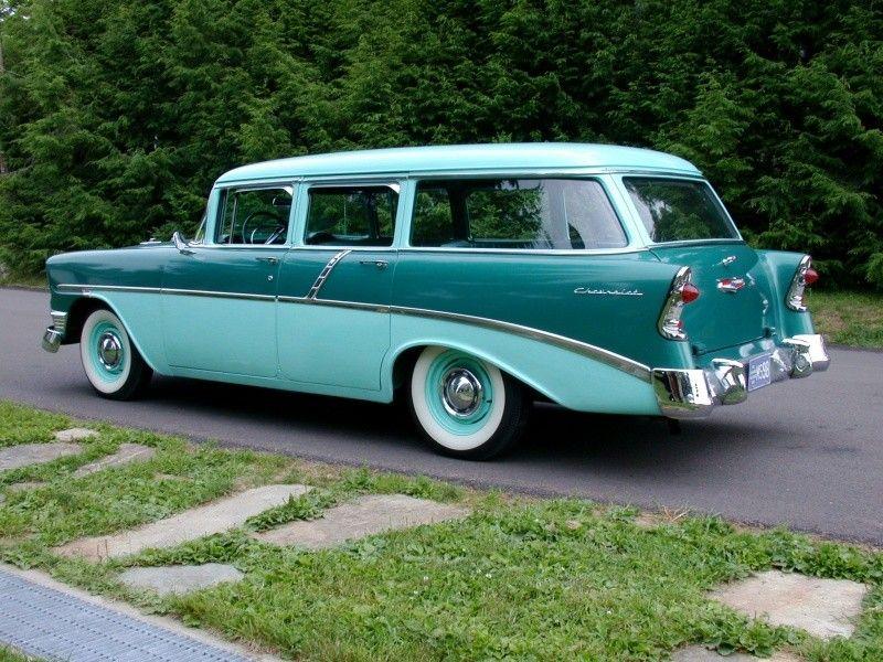 1956 Chevrolet Station Wagon Eagles Mere Pennsylvania Eagles