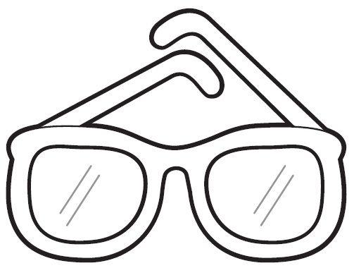 Gafas Para Pintar Dia Del Padre Gafas Gafas Dibujo Y Imprimir