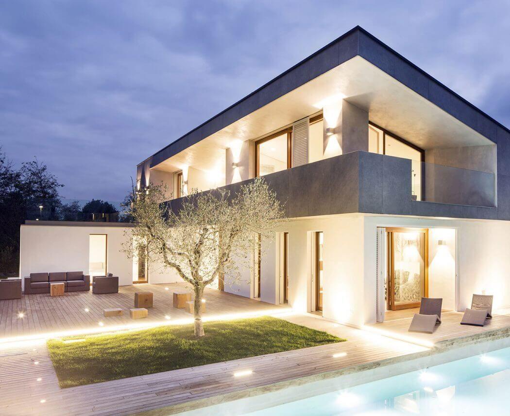 House in forte dei marmi by fabbricanove architetti for Idee casa minimalista