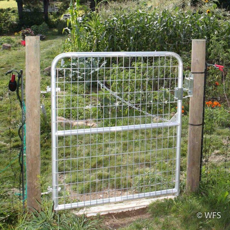 50 Heavy Duty Livestock Gate With 2x4 Welded Mesh Hardscape Gate Livestock