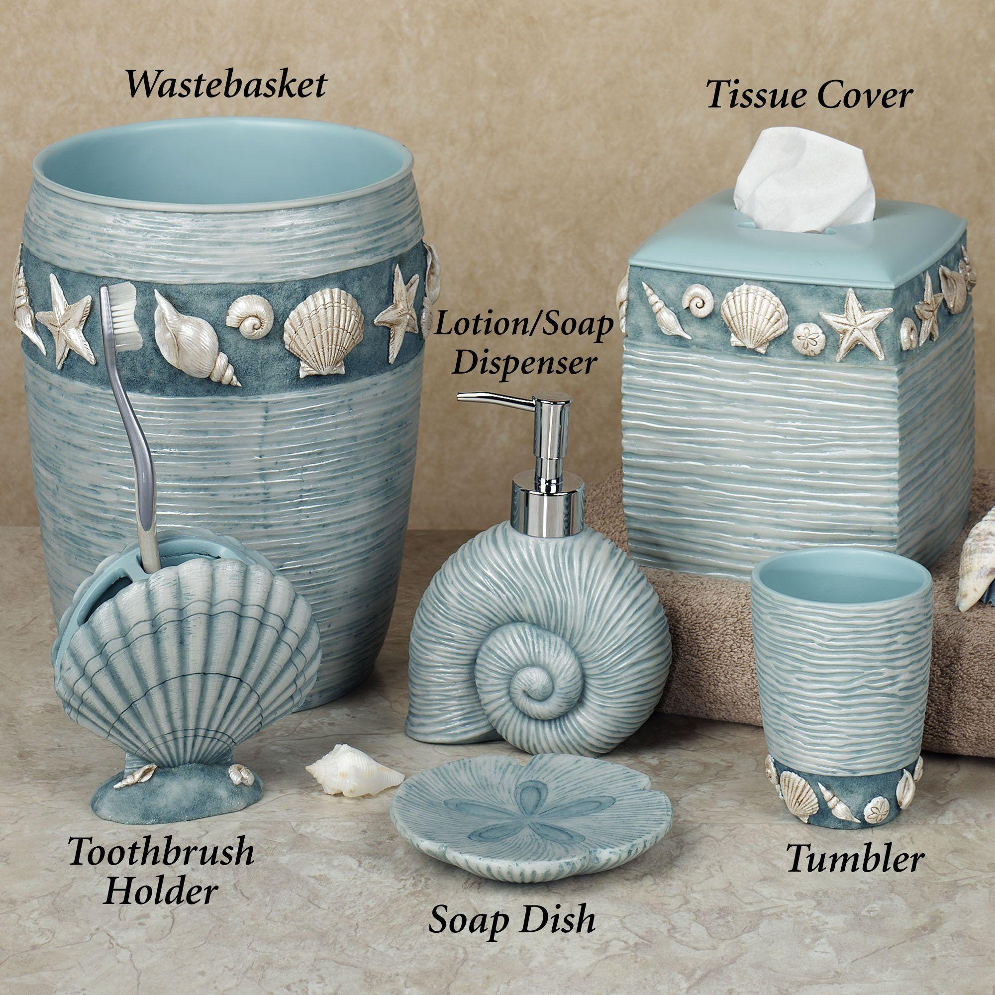 I Love Seashells Beach Theme Bathroom Beach Bathroom Decor