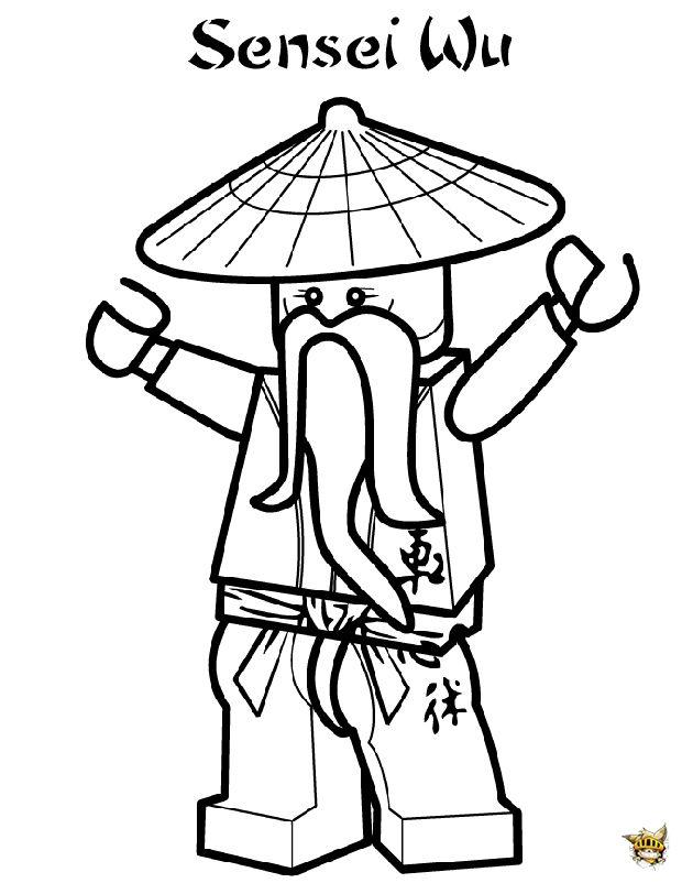 Sensei wu ninjago coloriage ninjago ninjago dessin et coloriage lego - Coloriage ninjago lego a imprimer ...