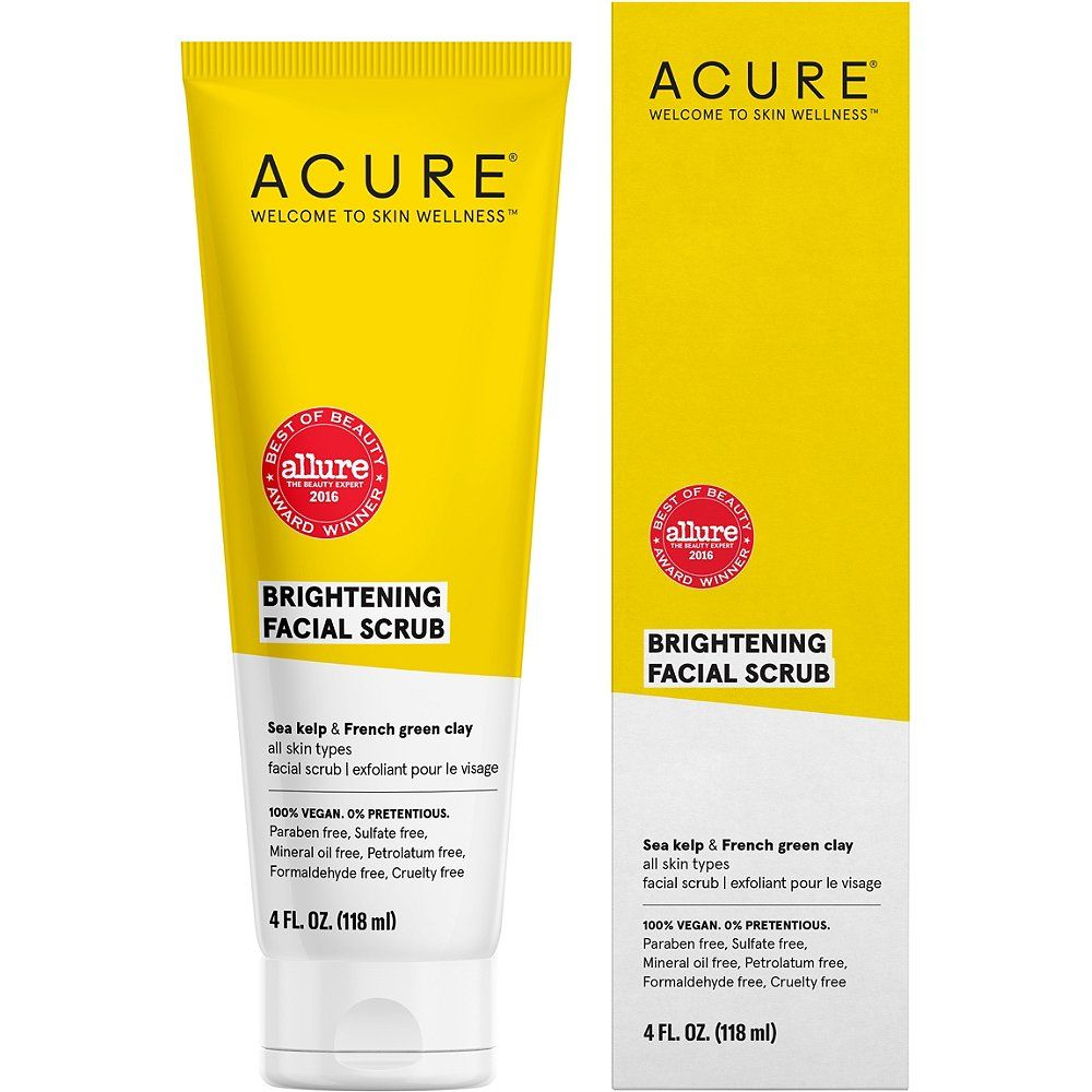 ACURE Brightening Facial Scrub (With Images)