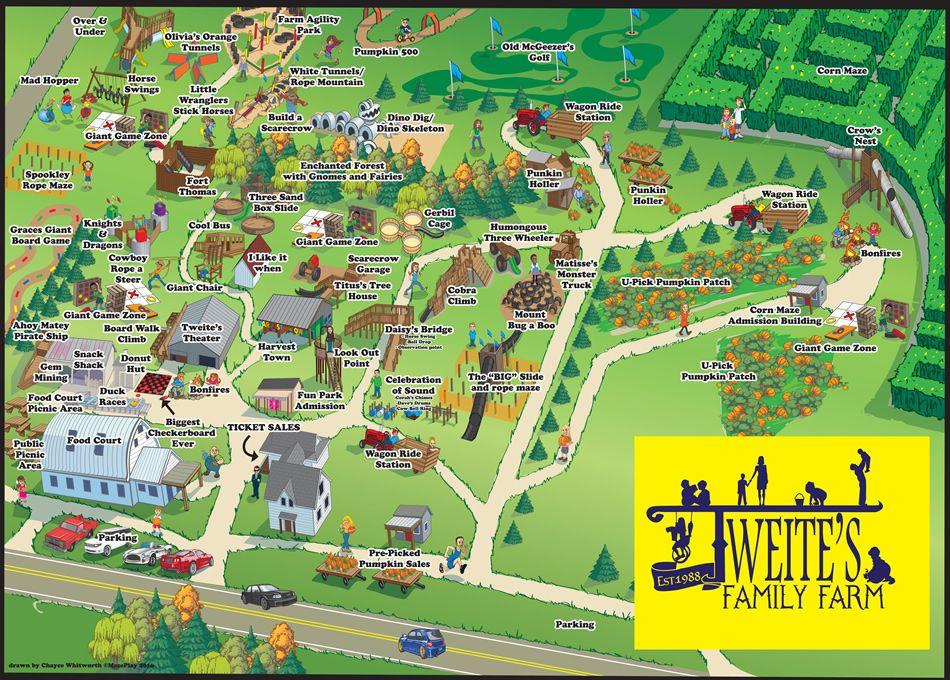 Tweite's Family Farm Corn Maze, Pumpkin Patch, Games