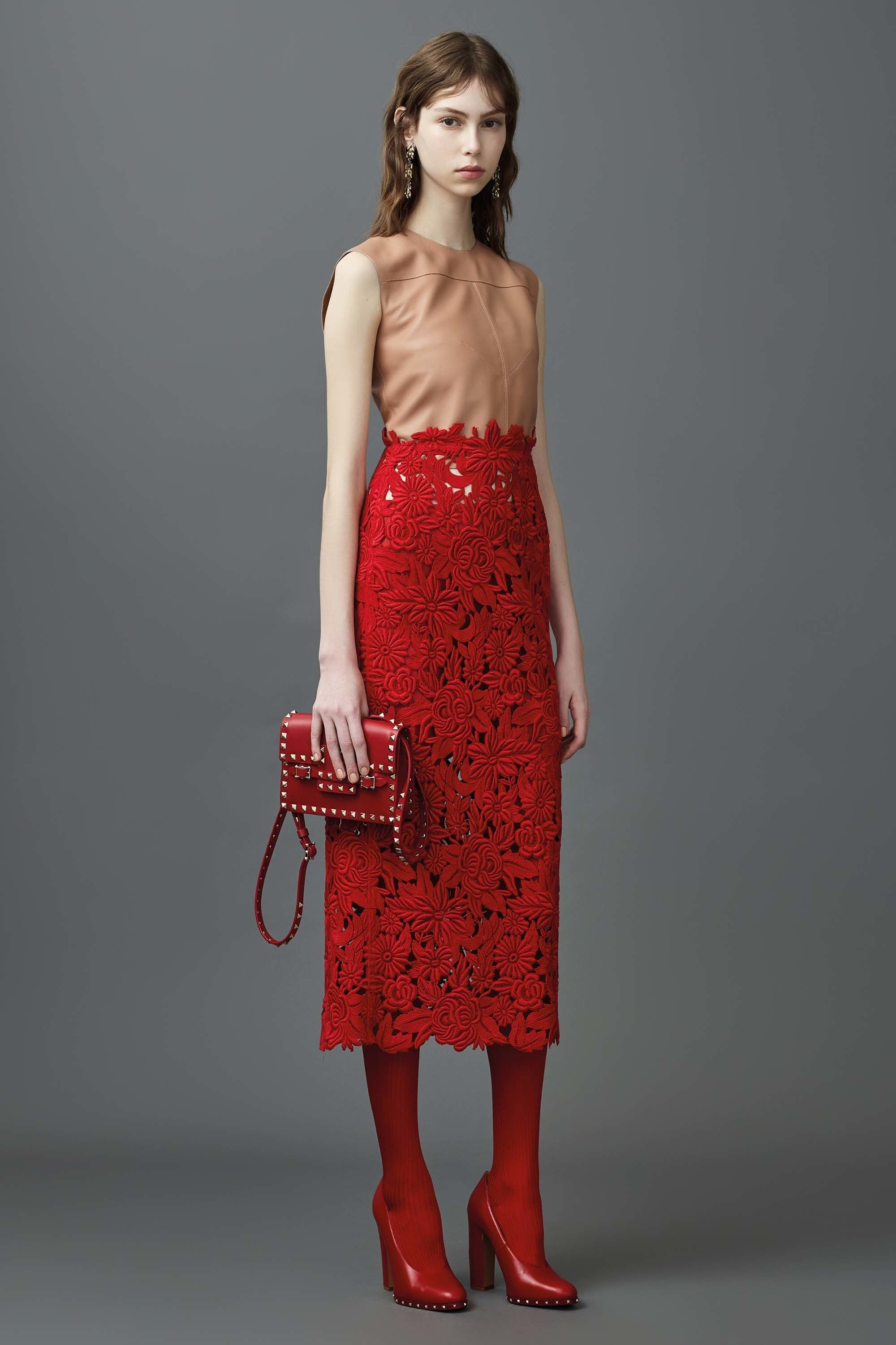 Valentino Resort 2017 Fashion Show  This Valentino collection was inspired by…
