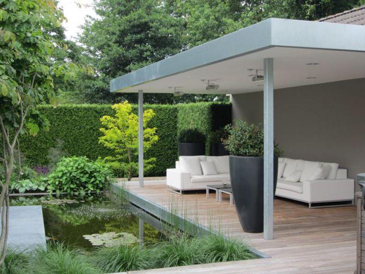 Onderhoudsvriendelijke Tuin Zwembad : Geen groene vingers richt dan een onderhoudsvriendelijke tuin in