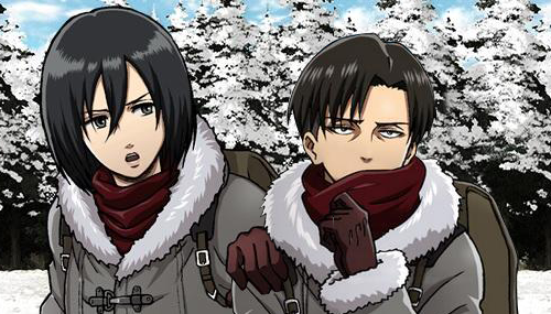 Levi & Mikasa discovered by @AndyyRodriiguez on We Heart It