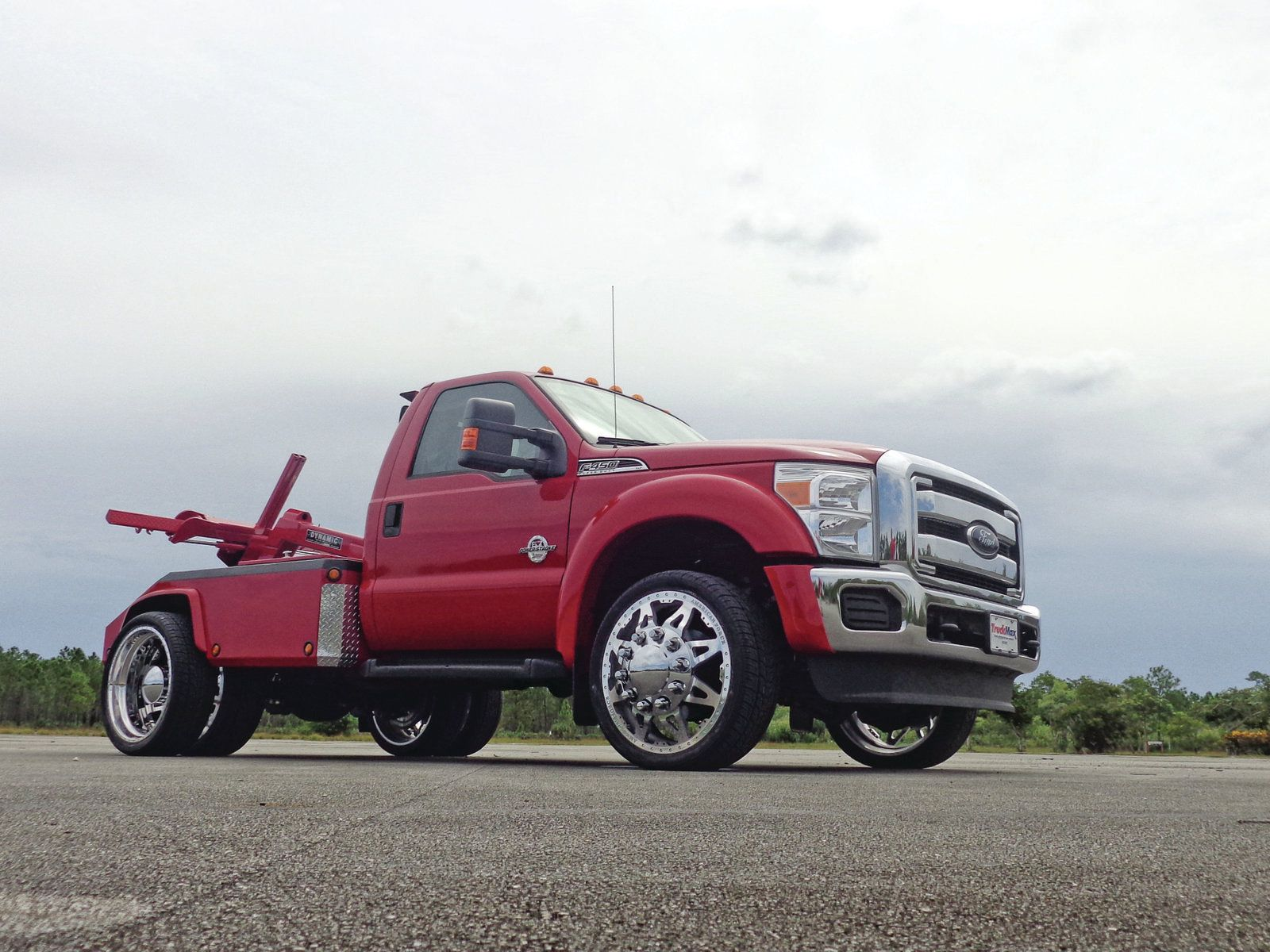 Red wrecker 2012 ford f 450